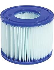 Bestway Set de Dos Filtros de Cartucho Anti Bacterias Tipo Vi para Lay-Z-