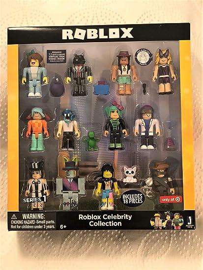 The Amazon Roblox Amazon Com Roblox Celebrity Series Target Exclusive 12pk Figurines Toys Games