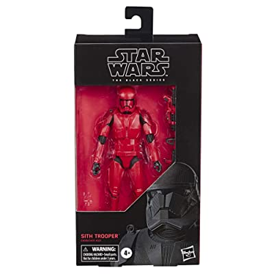 "Star Wars The Black Series Sith Trooper Toy 6"" Scale The Rise of Skywalker Collectible Action Figure, Kids Ages 4 & Up: Toys & Games"