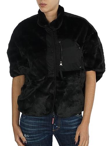 Eco Pellicca *Double Face* ( reversibile ) Armani Jeans mezza manica 6y5b05 5nabz (nero, 42)