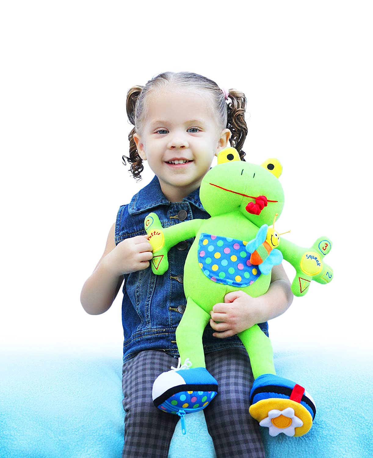 amazon com my pal jumper the frog activity toy u2013 best educational