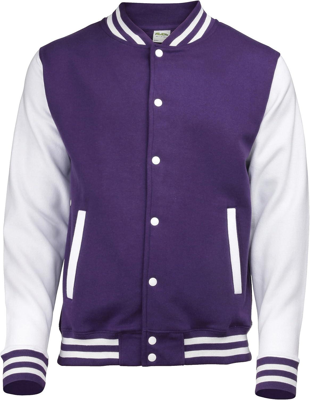 Awdis Varsity jacket 16 Colours Sizes XS to 2XL