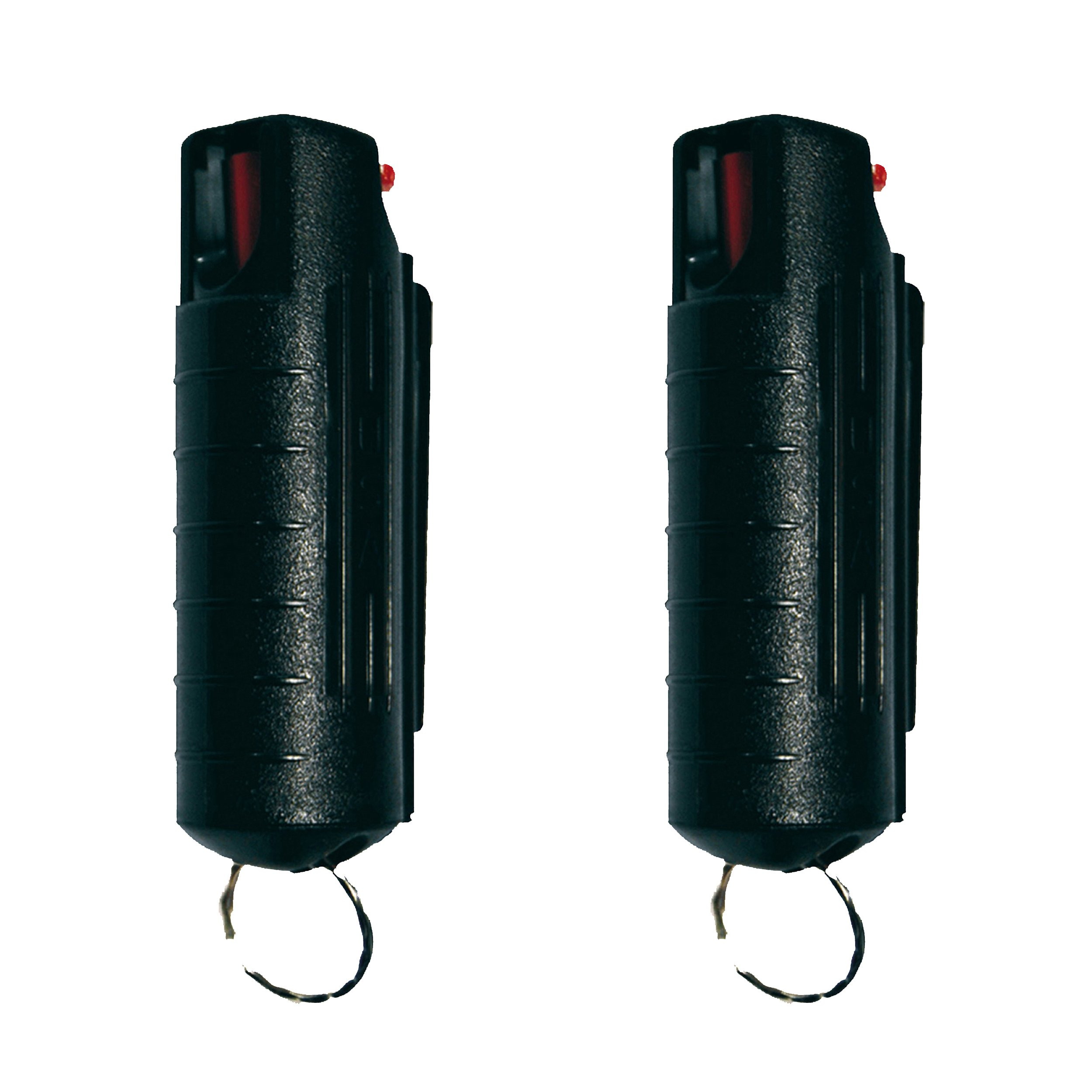 Wildfire 18% 1/2 Oz Hard Case Pepper Spray - Choice of 1 or 2 Pak (Black, 2 Pak) by Wildfire Motors