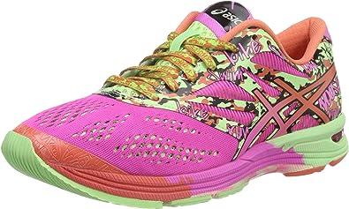 Asics Zapatillas Deportivas Gel-Noosa Tri 10 Coral/Verde/Fucsia EU 38: Amazon.es: Zapatos y complementos
