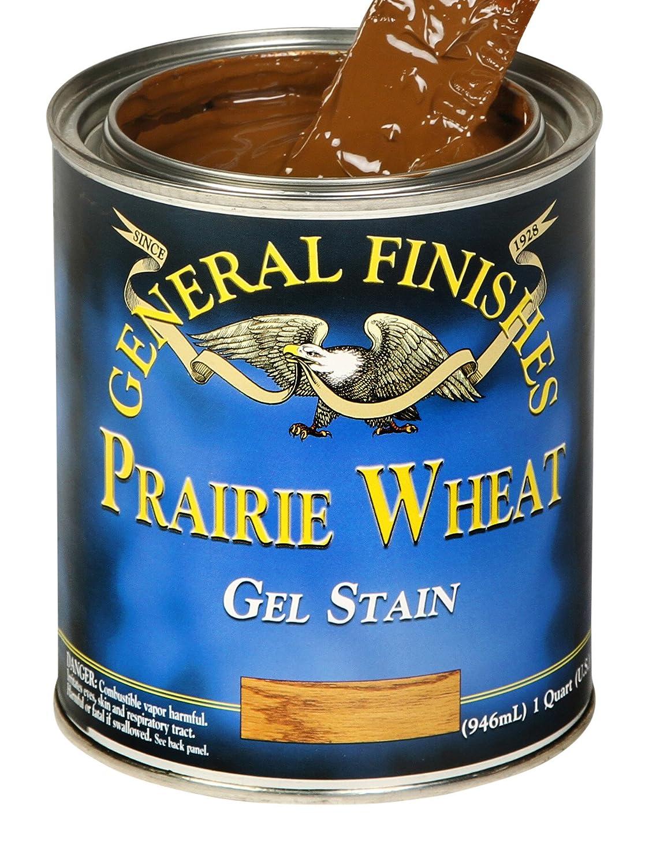 General Finishes ゲルステイン Half-Pint GELPRAIRIEWHEATHP B001DT1UT2 Half-Pint|Prairie Wheat Prairie Wheat Half-Pint