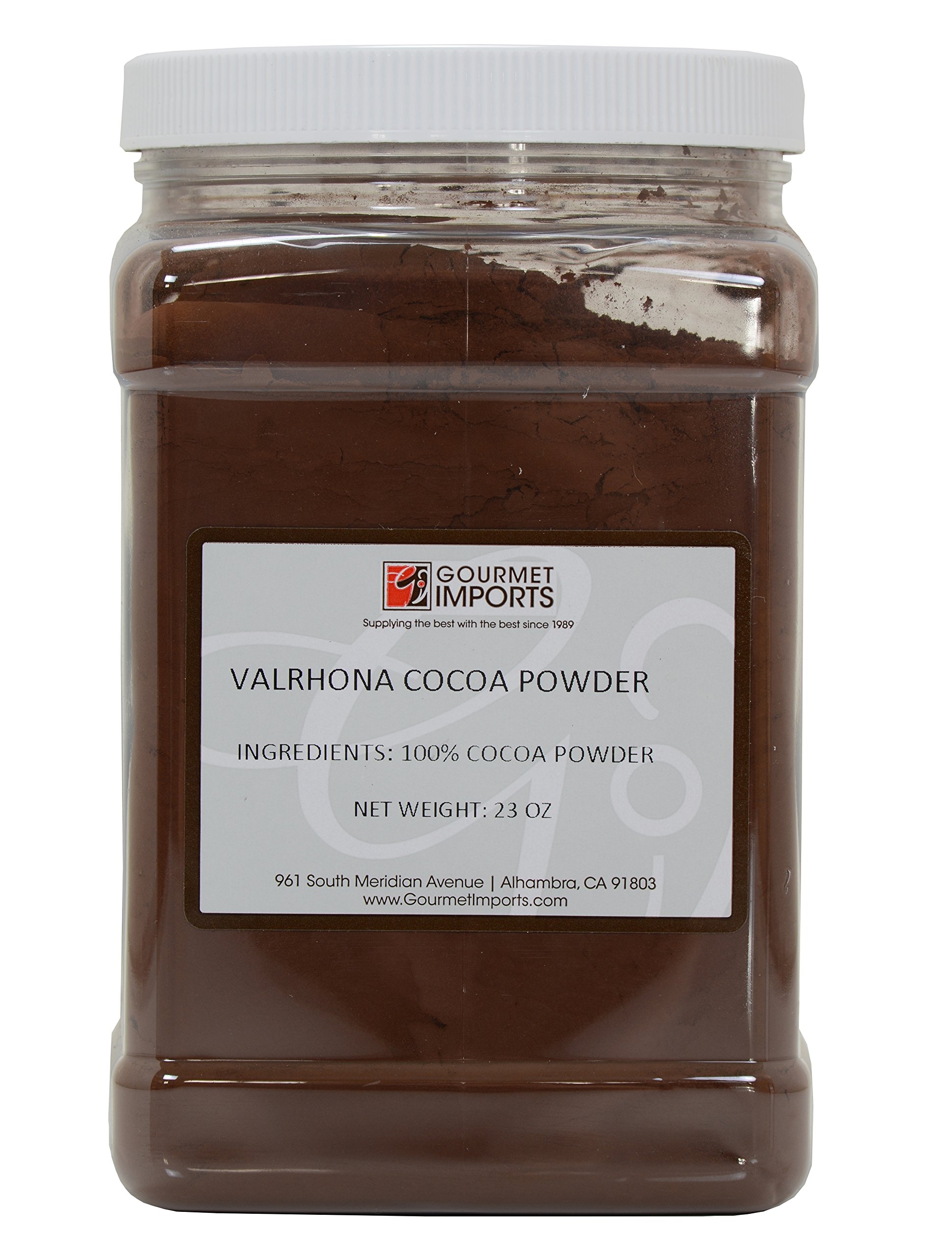 Valrhona Cocoa Powder in a Twist Off Jar - 1.43 lbs by Valrhona (Image #1)
