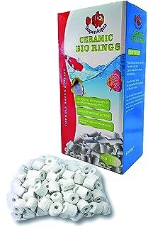 SuperAqua - Bioanillos de cerámica para acuario, anillos de cerámica, filtro para todos los