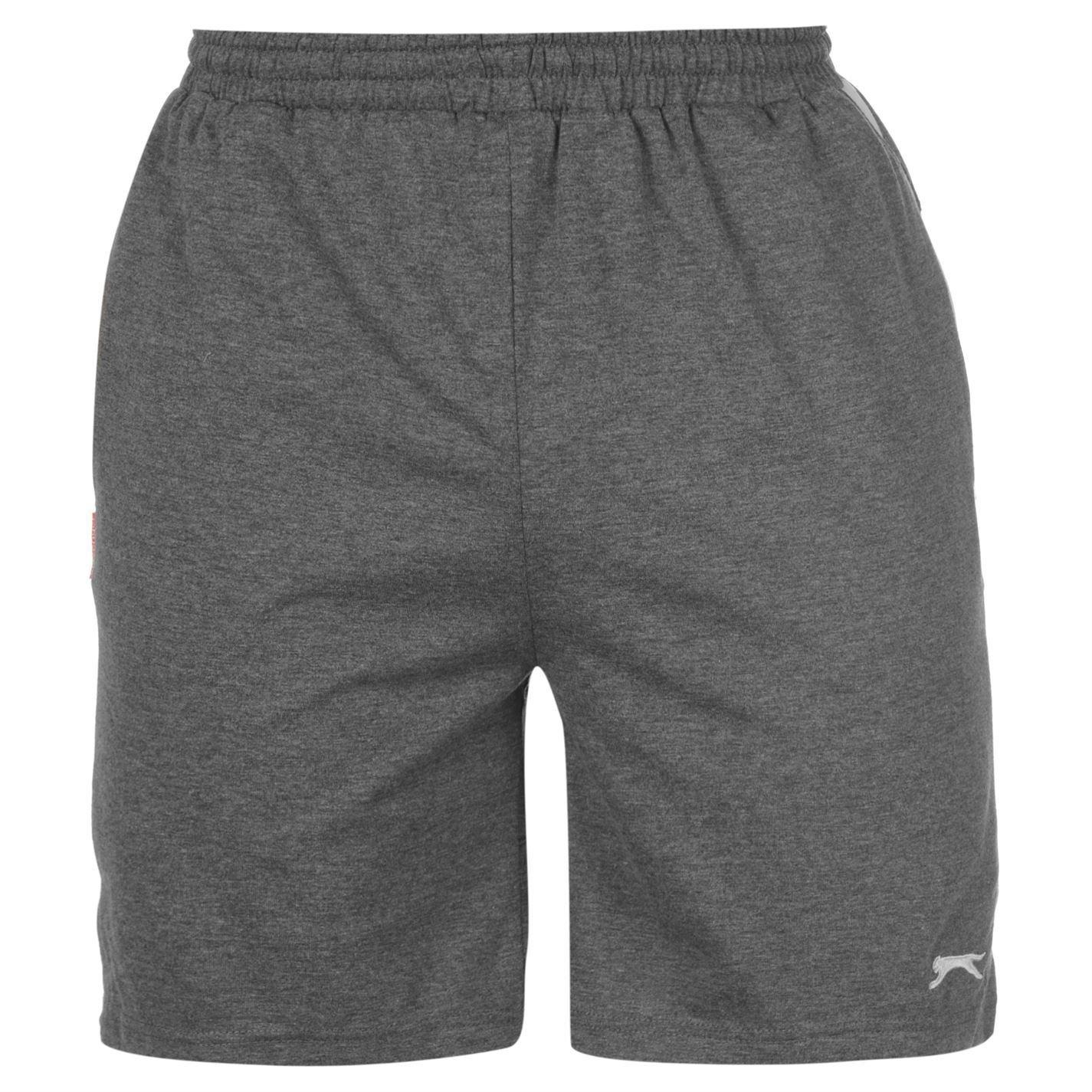 2104250cae1 Slazenger Jersey Short Mens Charcoal MARL XX Large  Amazon.co.uk  Clothing