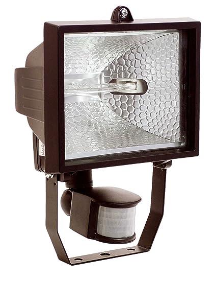 as Schwabe 43502 - Foco halógeno con sensor de movimiento (400 W), color