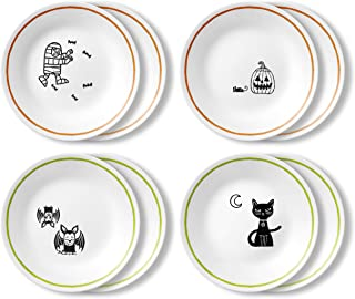 product image for Corelle Chip Resistant Appetizer Plate, 8-Piece, Party Ghouls