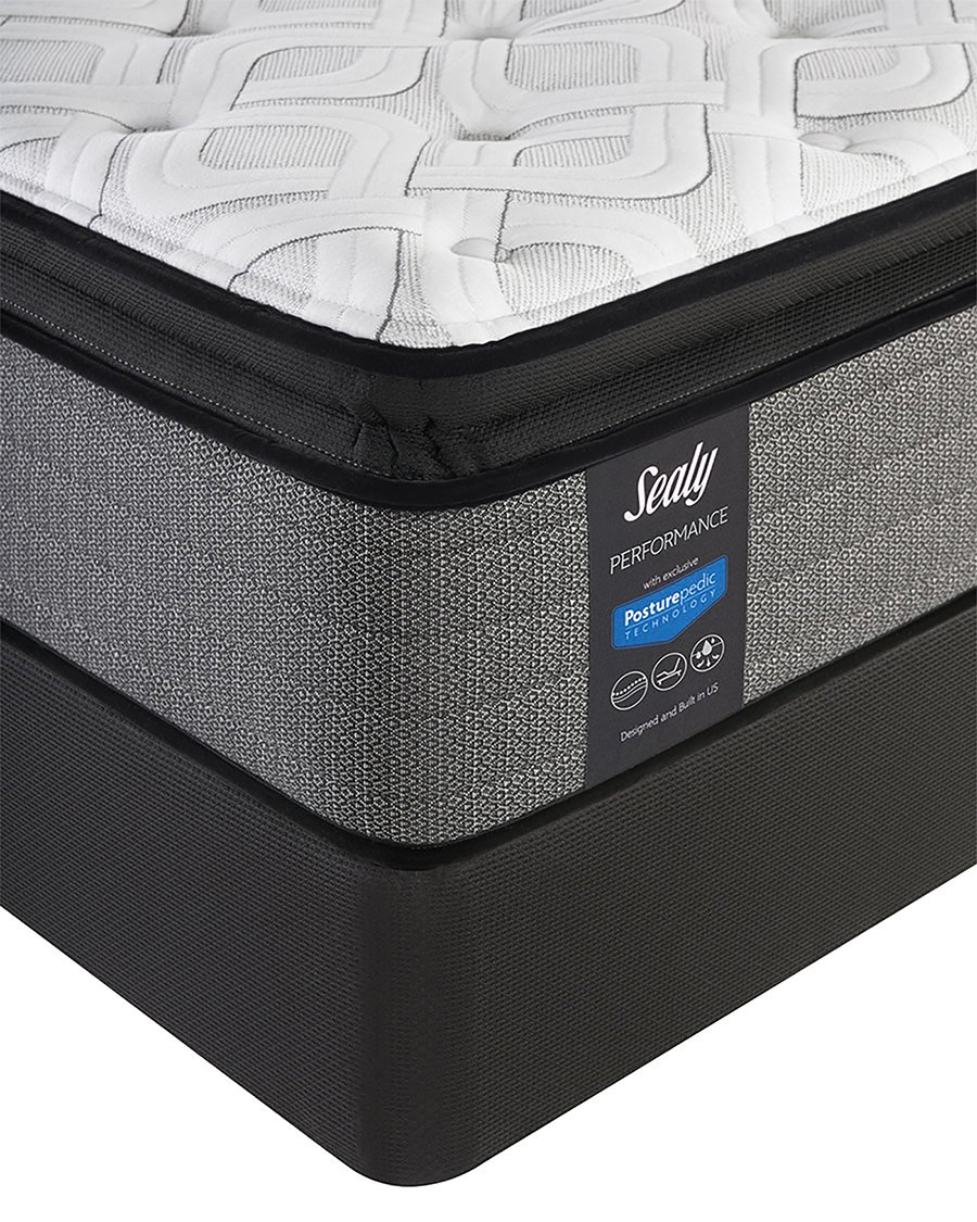 amazon com sealy posturepedic queen response performance cooper