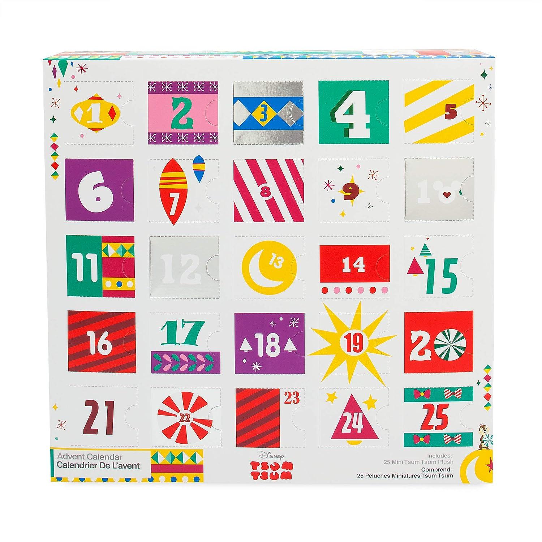 Calendrier Pass Disney.Disney Tsum Tsum Plush Advent Calendar Mini