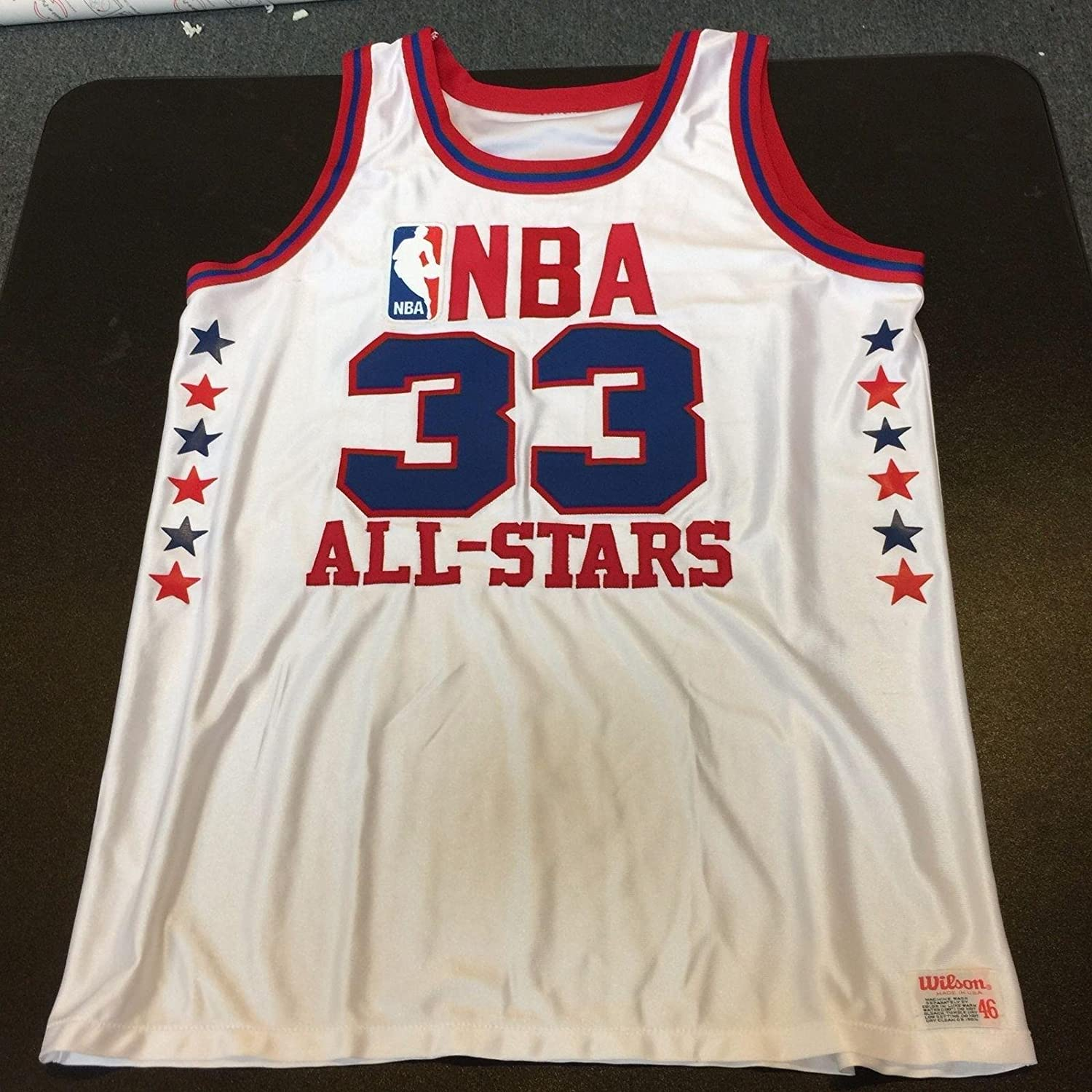 b897fa03b Authentic Wilson 1980 s Larry Bird All Star Game Jersey - Autographed NBA  Jerseys at Amazon s Sports Collectibles Store