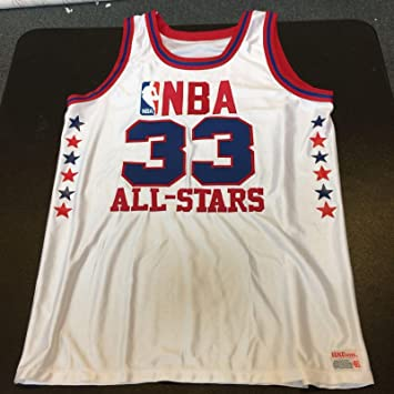 18ff95238a6 Authentic Wilson 1980 s Larry Bird All Star Game Jersey - Autographed NBA  Jerseys