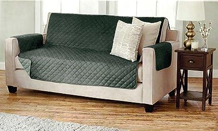 Divano Arancione E Marrone : Copridivano doppio per poltrona e divano trapuntato con