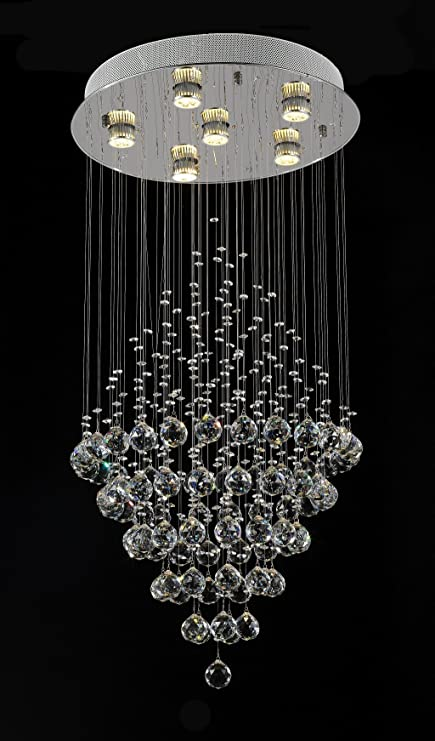 Aiwen ceiling lightings simple crystal chandelier lustres cristal aiwen ceiling lightings simple crystal chandelier lustres cristal lights led gu10 droplets crystals lighting 6 lights aloadofball Image collections