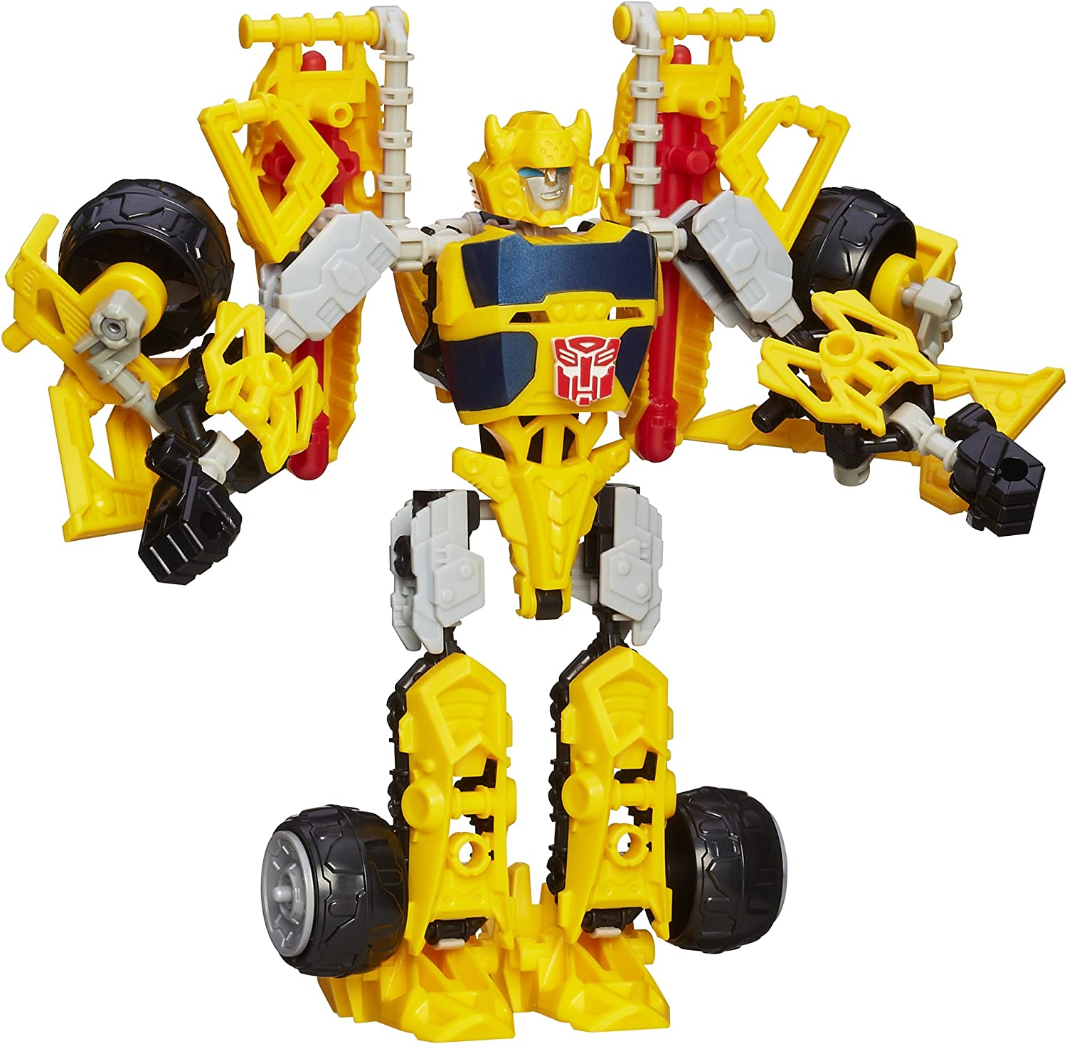 Kid Pop Transformer Figures Toy Optimus Prime Ironhide Bumble Bee Robots Gifts