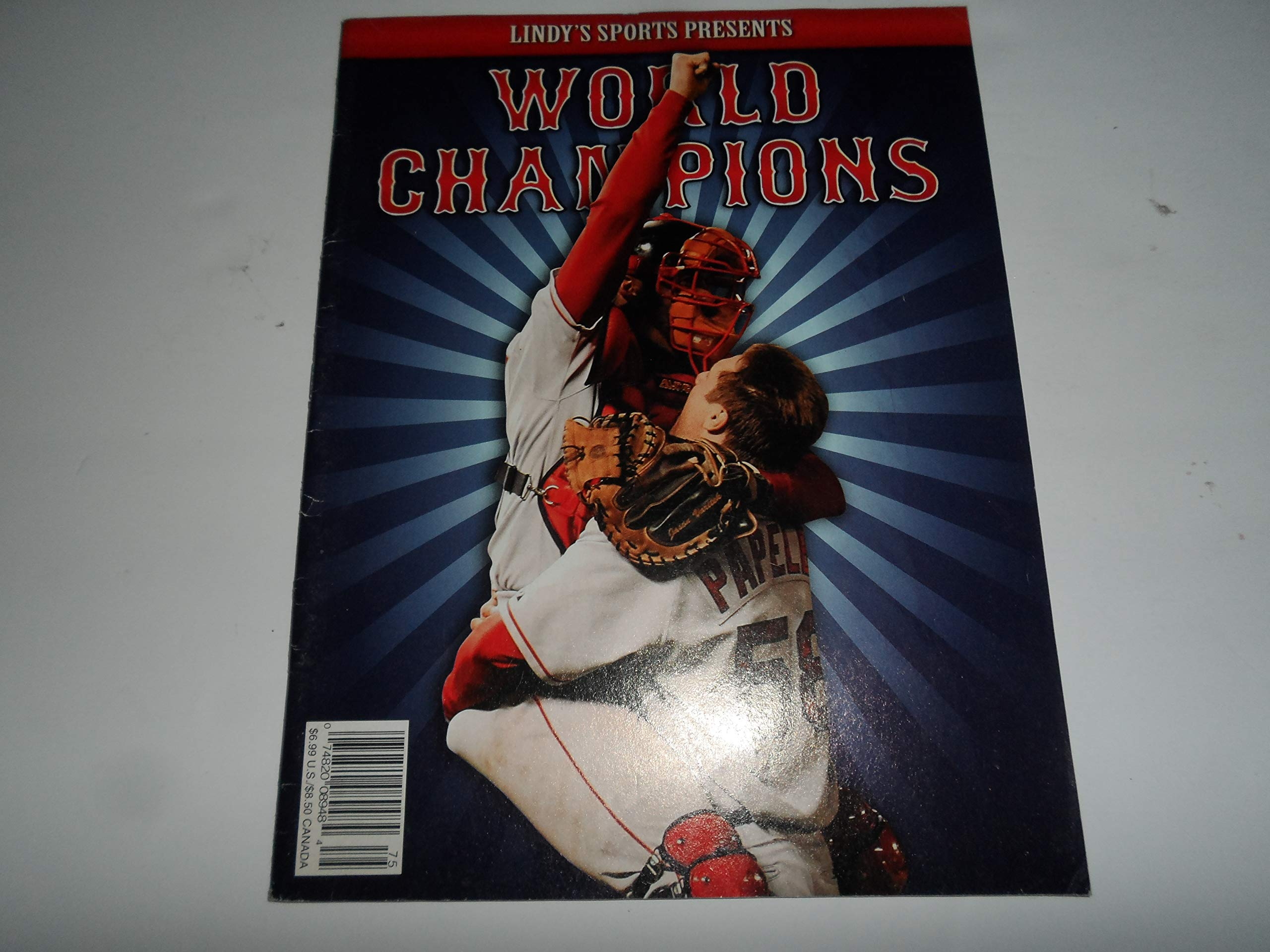 Read Online Lindy's Sports Presents 2007 Boston Red Sox World Champions ebook