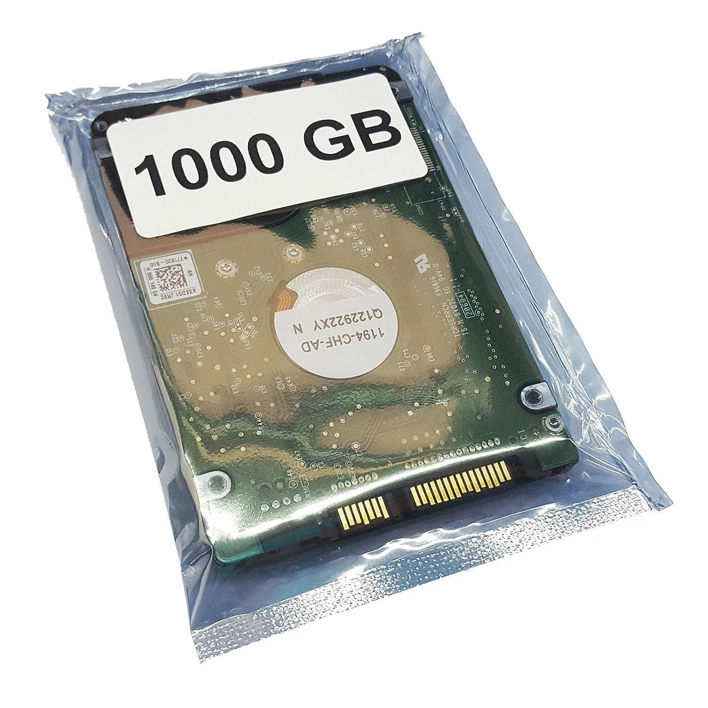1000GB 1 to, 1000 Go Disque Dur 2,5 1TB 5400 TR//Min SATA3 pour ASUS X75V Disque Dur Mise /à Niveau de m/émoire