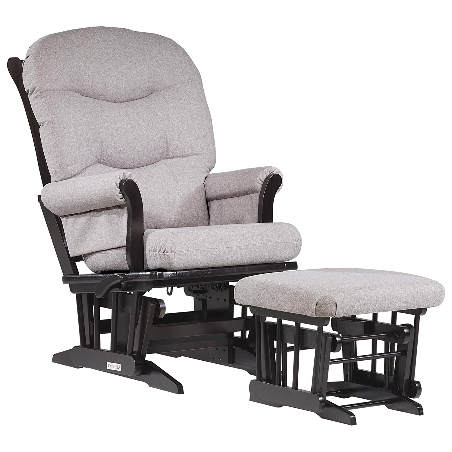 Amazon Com Dutailier Sleigh 0369 Glider Multiposition Lock Recline With Ottoman Included Baby
