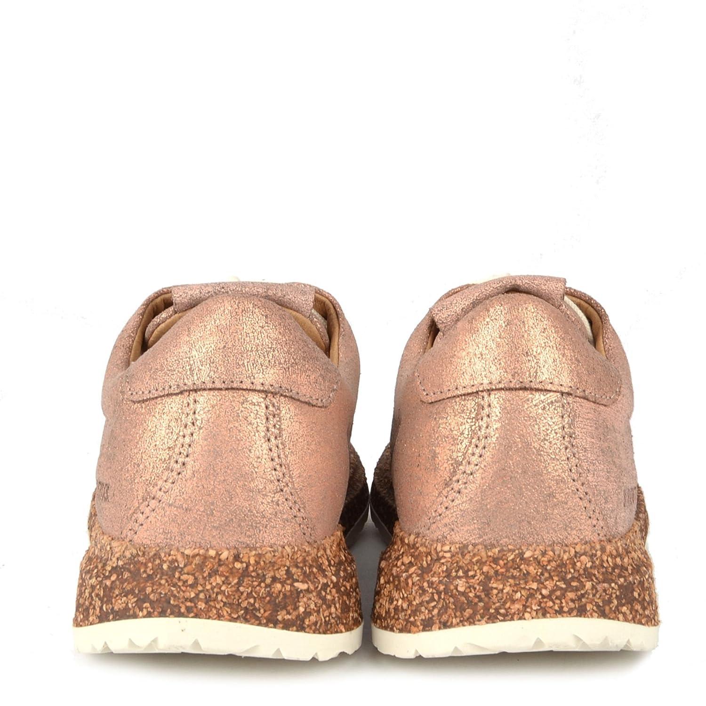 11ef853c1bed2f BIRKENSTOCK Wrigley - Rosa Leder Turnschuhe - Damen  Amazon.de  Schuhe    Handtaschen