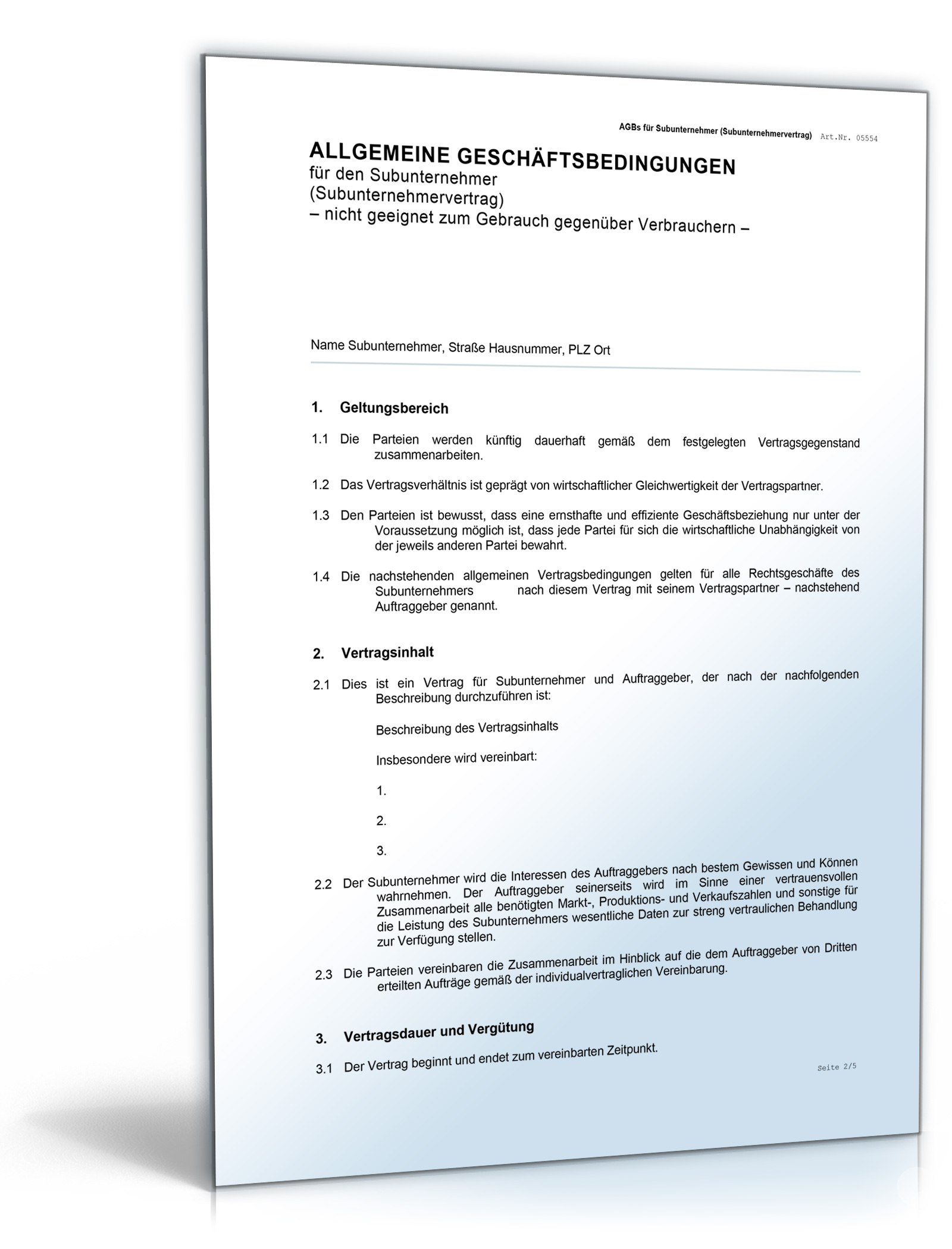 Bewerbung Subunternehmer Vorlage Twentetrailriding