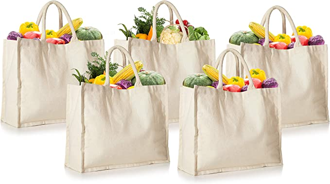 I Love To Avocuddle Reusable Grocery  Shopping Bag  Tote