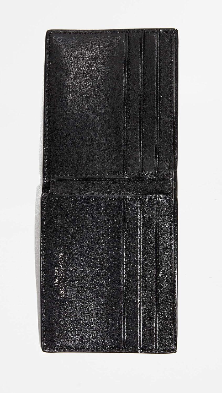 b160cf416e3ae6 Michael Kors Men's Henry Slim Billfold, Black, One Size at Amazon Men's  Clothing store: