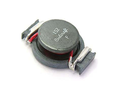 Amazon com : 8pcs Coilcraft Power Inductor 1 5uH 15A SMD SMT Flat