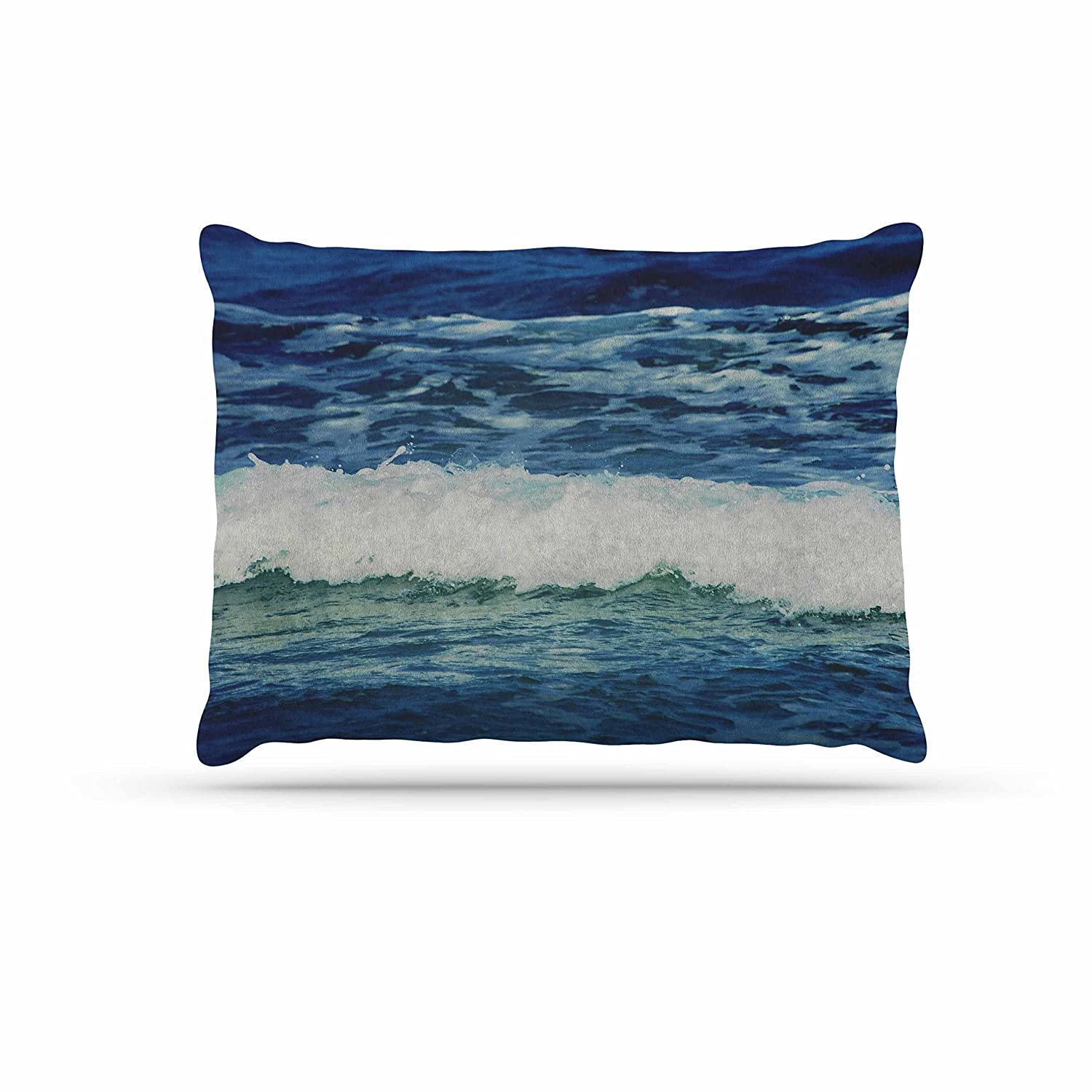KESS InHouse Chelsea Victoria Two If by Sea Nautical Photography Dog Bed, 50  x 40