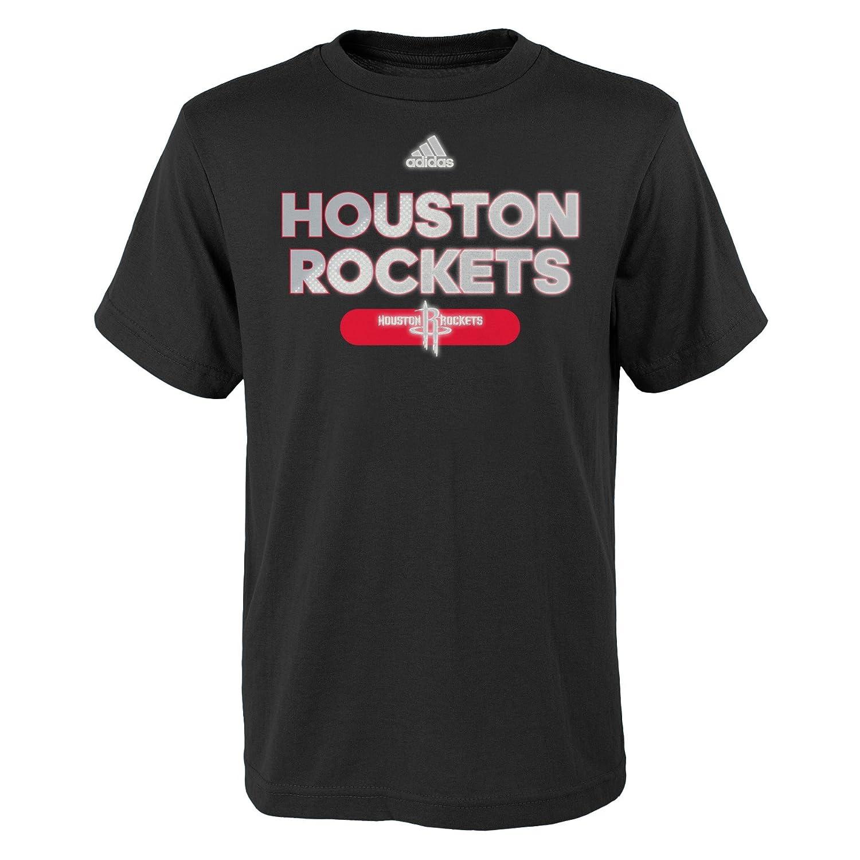 NBA Reflective Authentic Short Sleeve Tee-Black-S 8 Houston Rockets