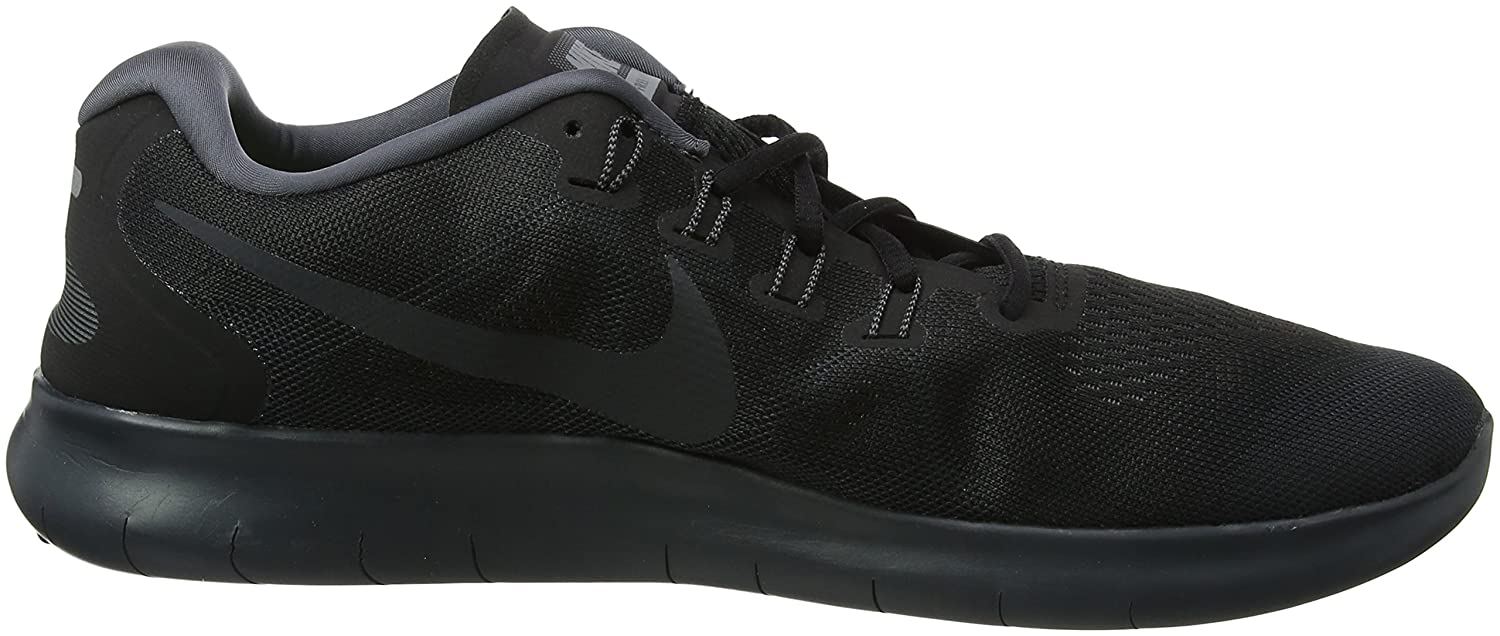 NIKE Men's Free RN Running Shoe Grey B01JZQSLC8 13 D(M) US|Black/Anthracite-dark Grey Shoe f361bf