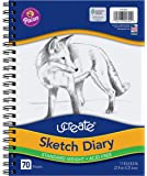 "Pacon 4794 UCreate Sketch Diary, 8.5"" x 11"", 70 Sheets"