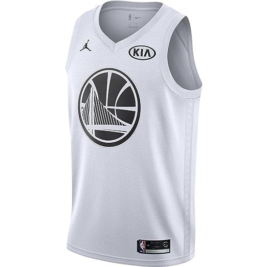 00da1169a47ea Amazon.com: Jordan Brand Kevin Durant Golden State Warriors White ...