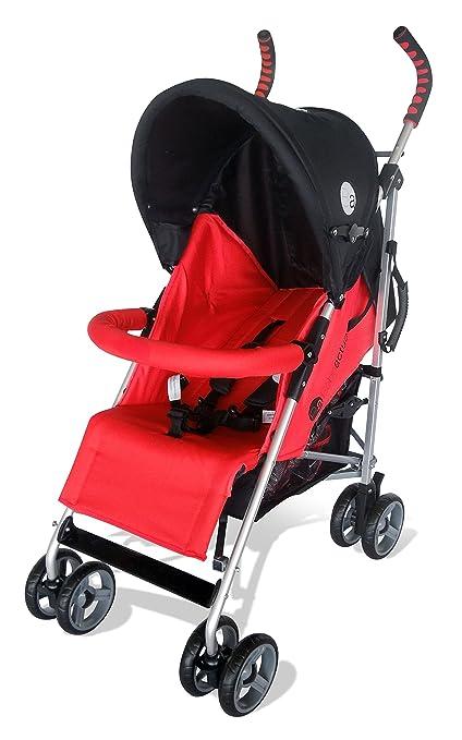 Asalvo Diamond - Silla de paseo plegable, color rojo