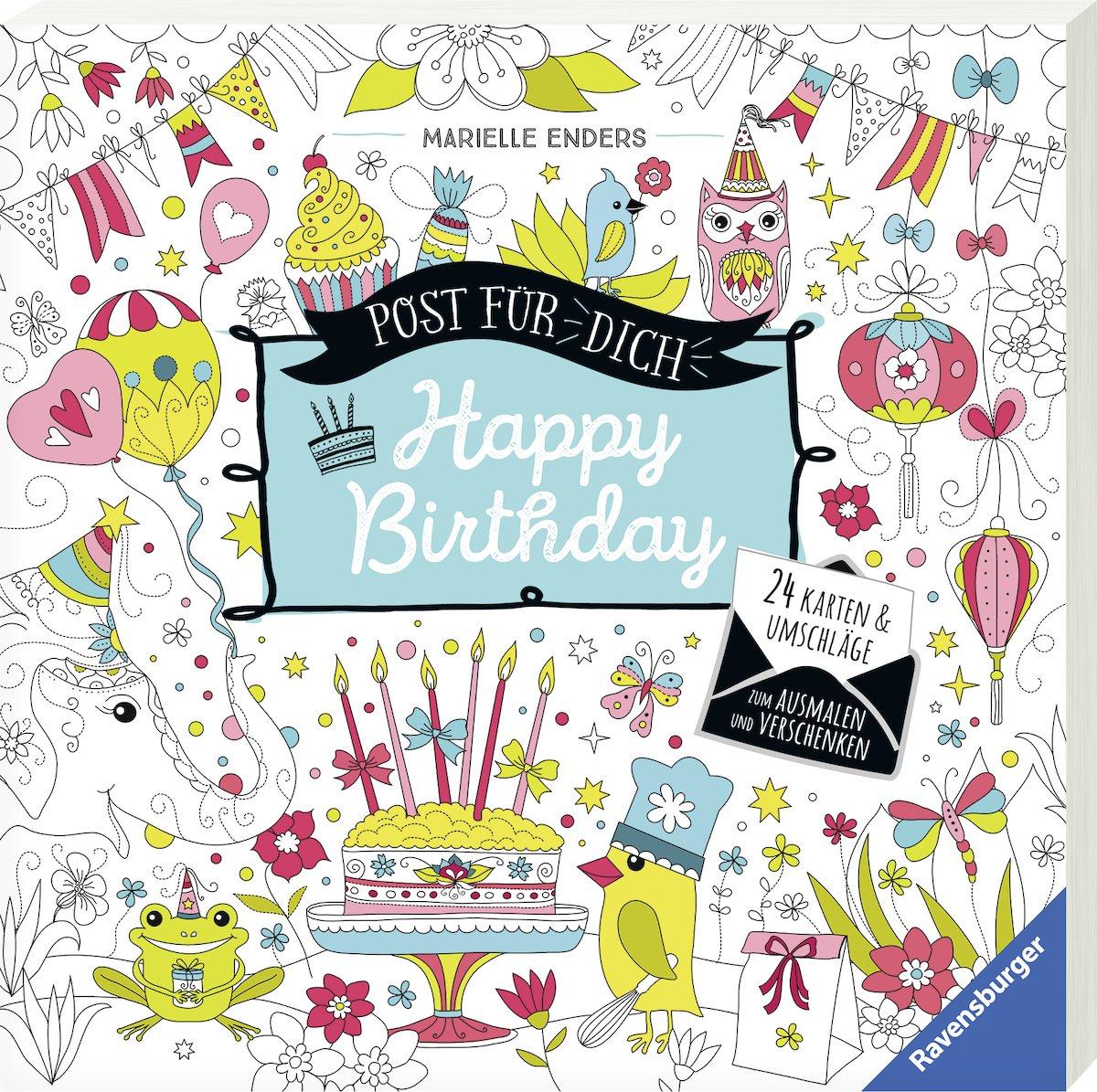 post-fr-dich-happy-birthday-24-karten-umschlge-zum-ausmalen-und-verschenken