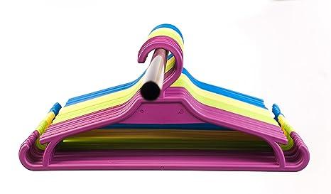 30cm hellblau und rosa 5erPack Kinderkleiderbügel ca