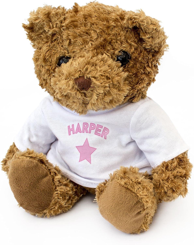 NEW Gift Present HAPPY BIRTHDAY HARPER Cute And Cuddly Teddy Bear