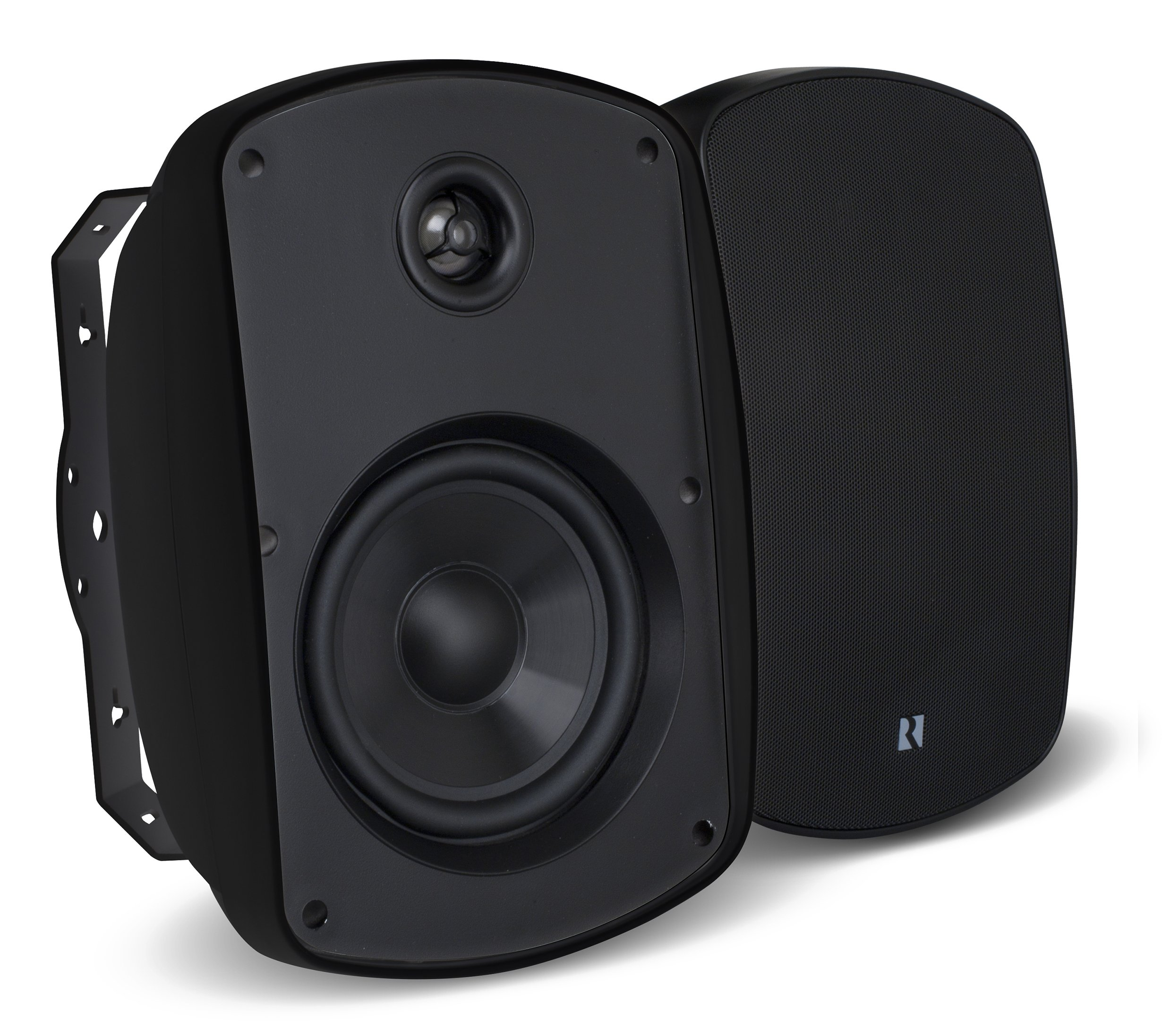 Russound 5B55B 5.25'' Indoor Outdoor Speakers Black by Russound