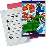 Procos S.A. Marvel Avengers invitations (lot de 6)
