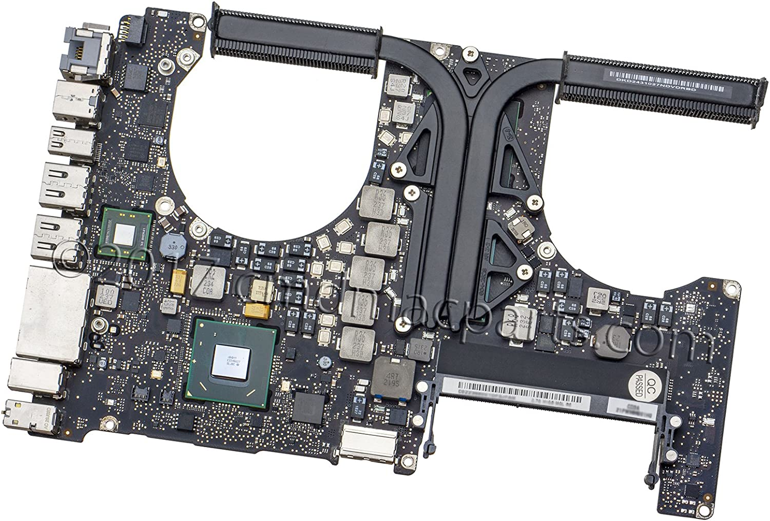 "Odyson - Logic Board 2.3GHz Core i7 (i7-3615QM) Replacement for MacBook Pro 15"" Unibody A1286 Mid 2012 (MD103, MD104)"
