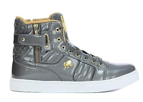 6dad4426dfd9 VLADO Footwear Midas Hi-Top Sneakers-Gunmetal-9
