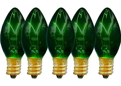 Amazon Com Green Christmas Light Bulbs Replacement