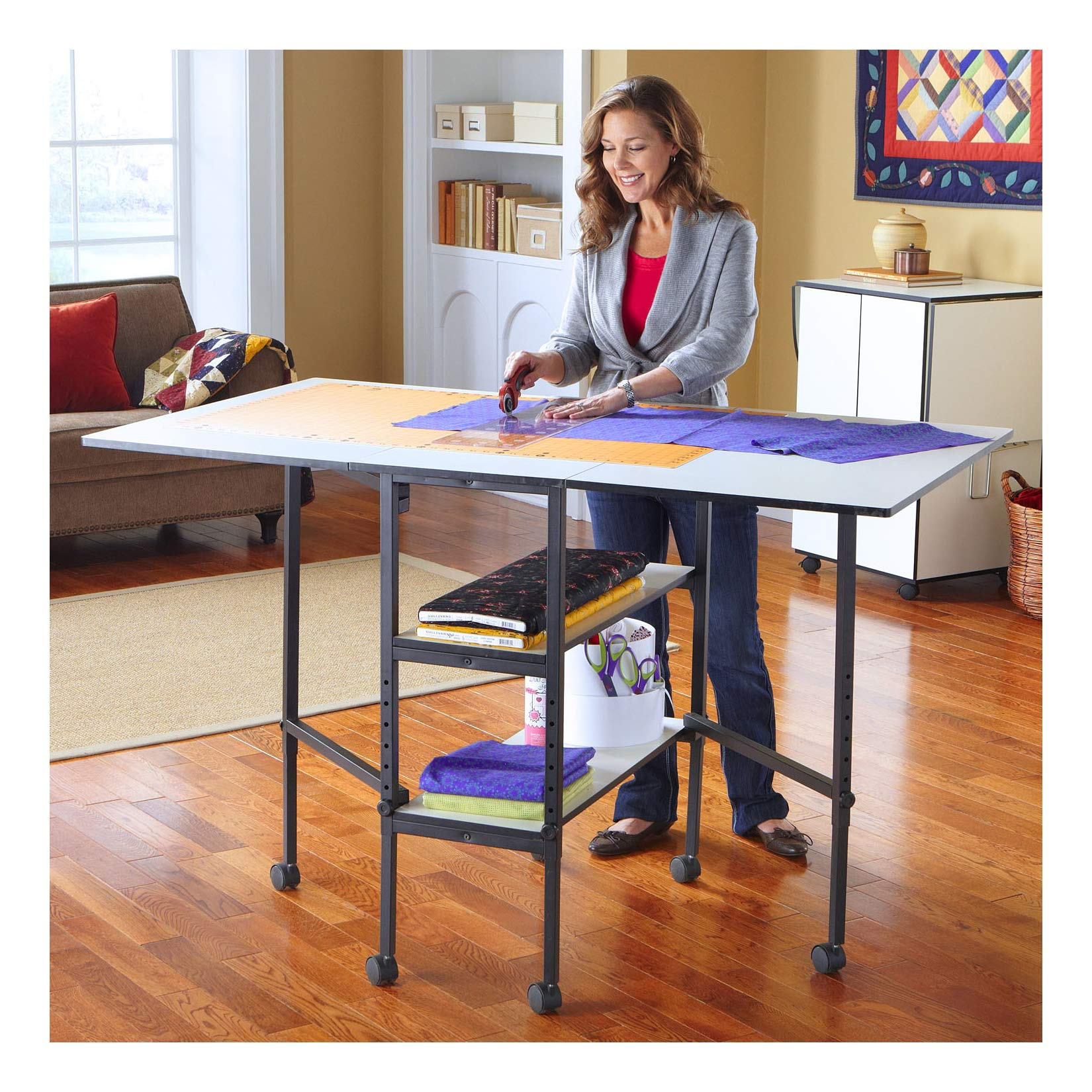 Sullivans Adjustable Home Hobby Table by Sullivans (Image #1)