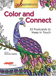 Color Yourself Zen Postcards: 50 Tranquil Passages to Color and