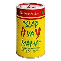 Slap Ya Mama All Natural Cajun Seasoning from Louisiana, Original Blend, MSG Free...