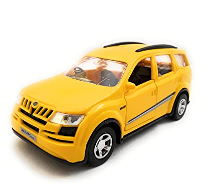 Buy The Game Begins Mahindra Xuv 500 Luxury Car Toy Yellow Online