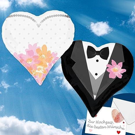 Auguri Di Matrimonio In Tedesco : Palloncini foglio per il matrimonio con elio farcite aerostati aria
