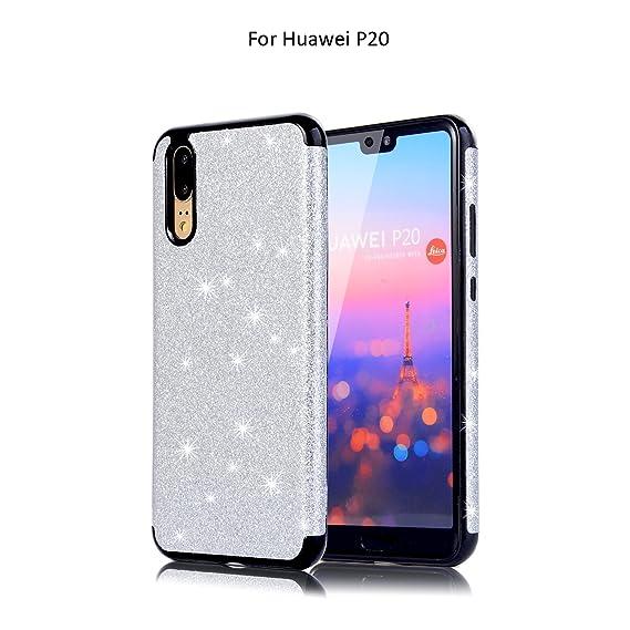 san francisco feb25 0aed5 Amazon.com: Compatible Huawei P20 Pro Case Luxury Glitter Sparkle ...