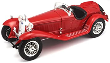 Buy Bburago Alfa Romeo 23 00 Spider (1932), Multicolor Online At Low Prices  In India   Amazon.in